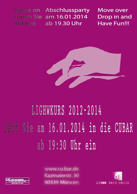 Die Einladung zum LIGHW-Fest 2014